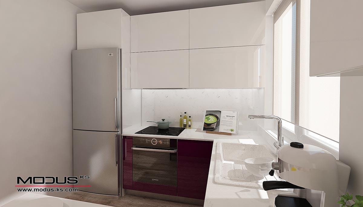 Интериорен проект на кухня СИЛВИЯ