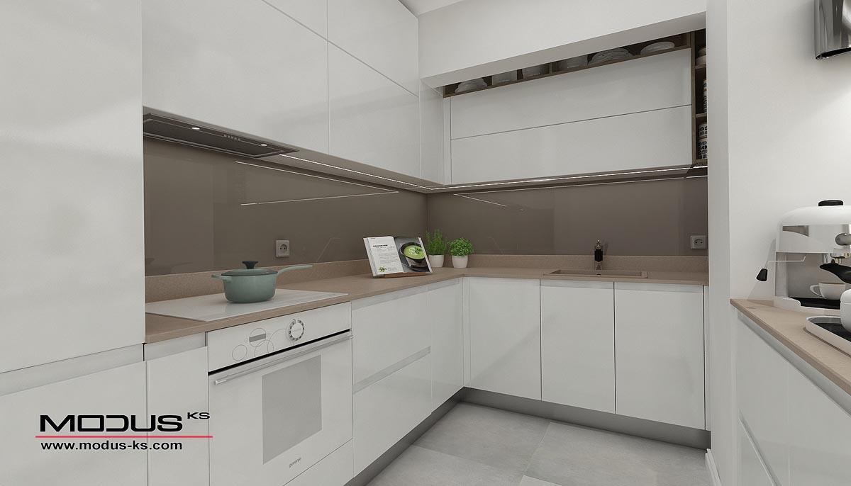 Интериор проект на кухня ПУДРА ЗАХАР