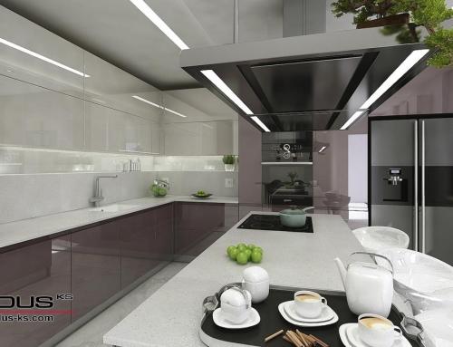 Интериорен проект на кухня ТРЮФЕЛ